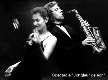 "Spectacle JMF ""jongleur de son"""