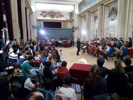 Soirée Cabaret - les magiciens du coeur + jeunes violoncellistes et saxophonistes du CRR / Hôtel de Ville de St Maur / 14 janv.17