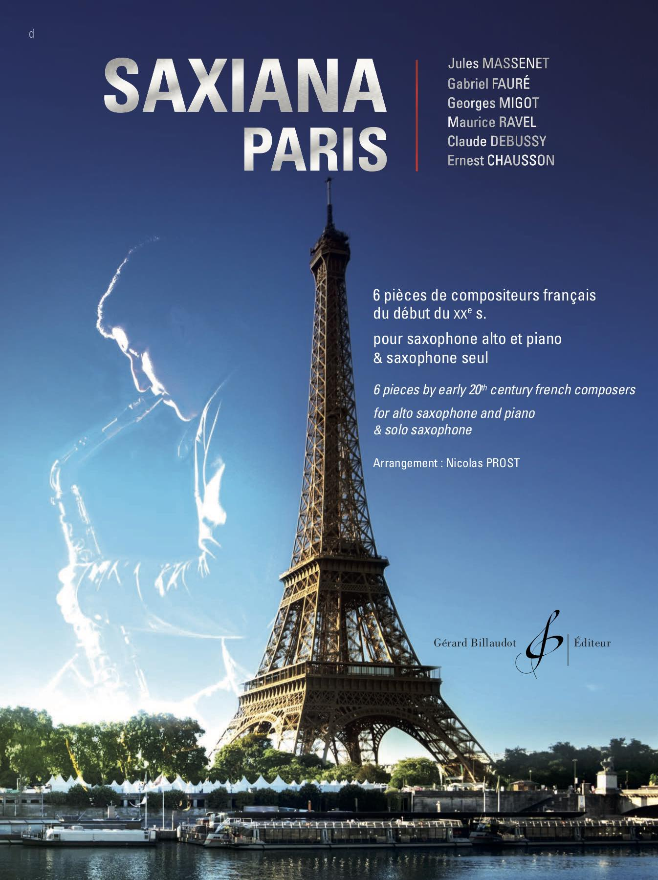Saxiana Paris Couv